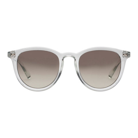 Le Specs Uni-sex Fire Starter Grey Round Sunglasses