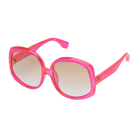 Le Specs Female Illumination Pink Butterfly Sunglasses