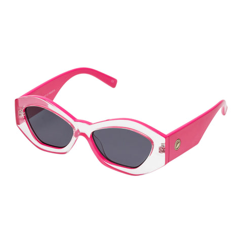 Le Specs Female The Ginchiest Clear Cat-eye Sunglasses