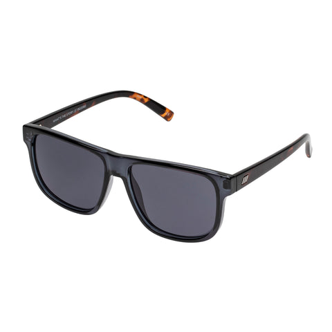 Le Specs Male What's The Story Grey Modern Rectangle Sunglasses