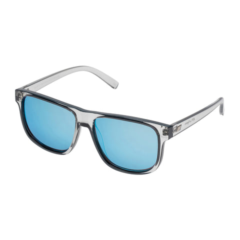 Le Specs Male What's The Story Clear Modern Rectangle Sunglasses