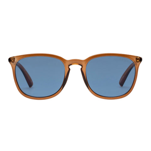 Le Specs Uni-sex Rebeller Tan Modern Rectangle Sunglasses