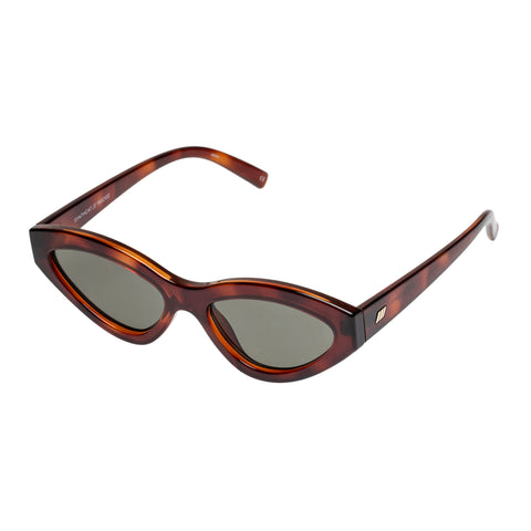 Le Specs Female Synthcat Tort Cat-eye Sunglasses