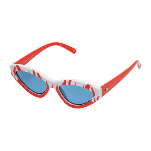Le Specs Female Synthcat Pattern Cat-eye Sunglasses