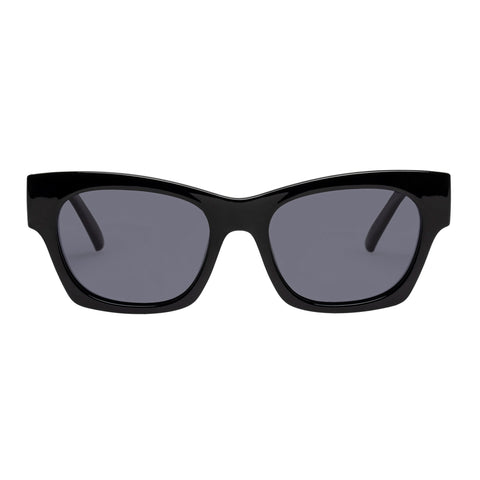 Le Specs Female Rocky Black Cat-eye Sunglasses