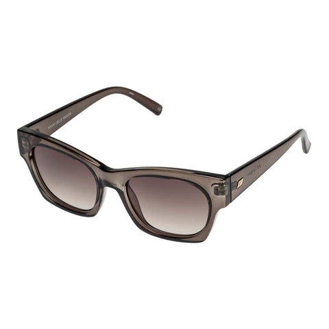 Le Specs Female Rocky Grey Cat-eye Sunglasses