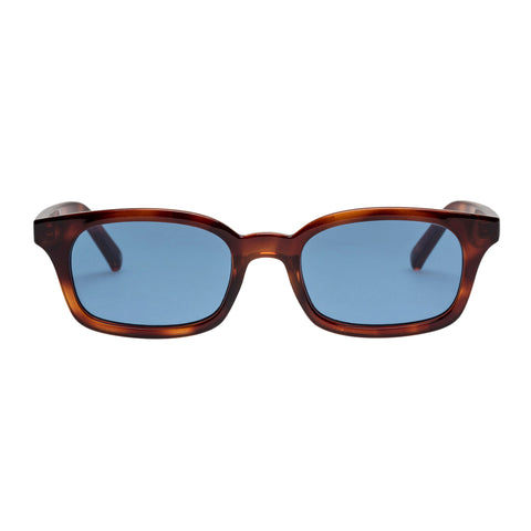 Le Specs Uni-sex Carmito Tort Modern Rectangle Sunglasses