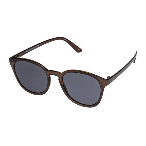 Le Specs Male Renegade Grey Modern Rectangle Sunglasses
