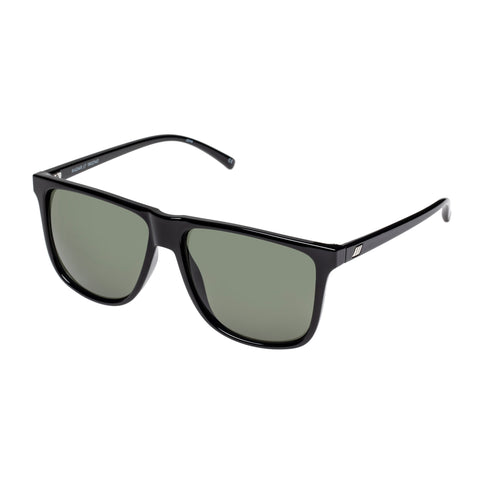 Le Specs Uni-sex Radar X Amazon Black Modern Rectangle Sunglasses