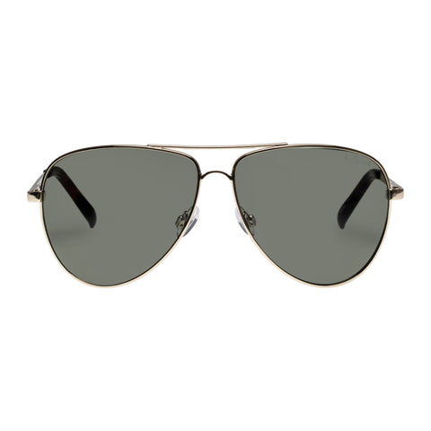 Le Specs Uni-sex Halo X Amazon Gold Aviator Sunglasses