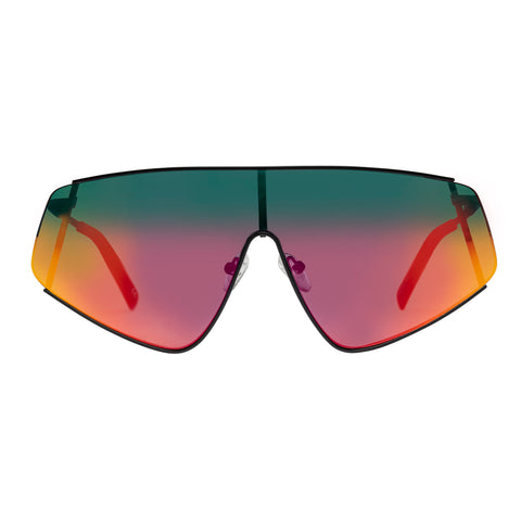 Le Specs Uni-sex Bladestunner Black Shield Sunglasses