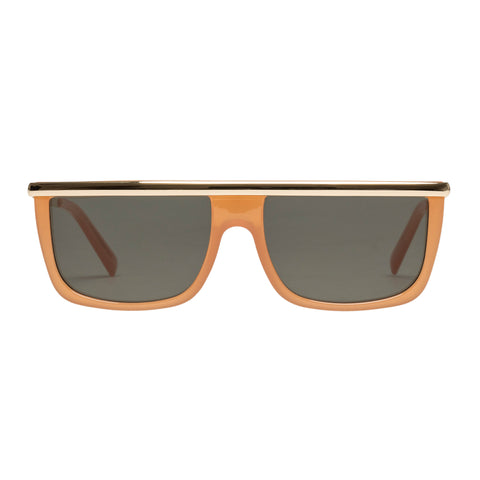 Le Specs Uni-sex Hydromatic Orange Modern Rectangle Sunglasses