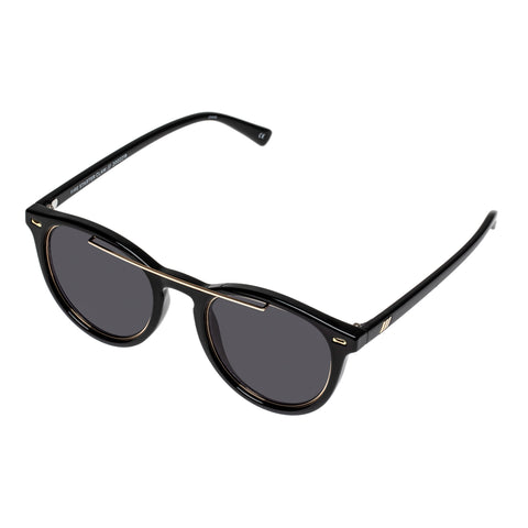 Le Specs Uni-sex Fire Starter Claw Black Round Sunglasses