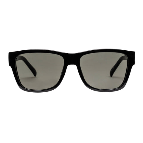 Le Specs Uni-sex The Force Black Modern Rectangle Sunglasses