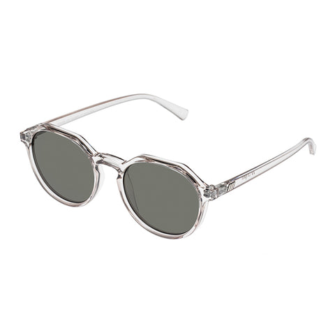 Le Specs Uni-sex Speed Of Night Clear Round Sunglasses