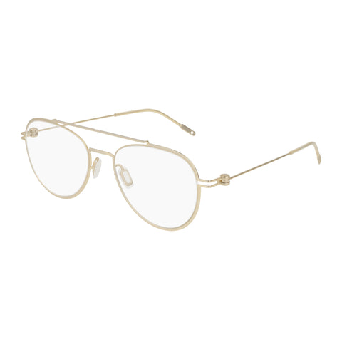 Montblanc Male Mb0001o Gold Aviator Optical Frames