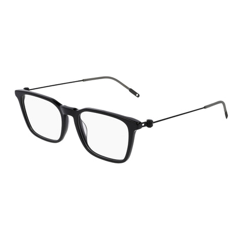 Montblanc Male Mb0005oa Black Modern Rectangle Optical Frames