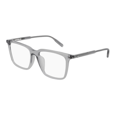 Montblanc Male Mb0011oa Grey Modern Rectangle Optical Frames