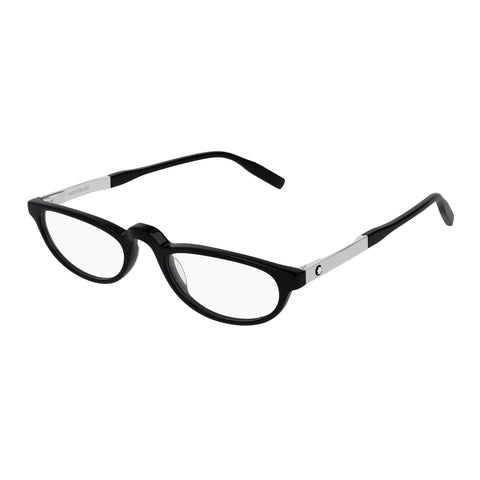 Montblanc Male Mb0024o Black Round Optical Frames