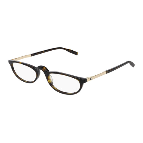 Montblanc Male Mb0024o Tort Round Optical Frames