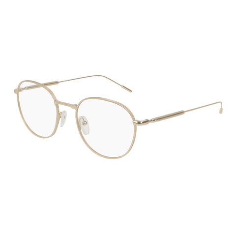 Montblanc Male Mb0048o Gold Round Optical Frames
