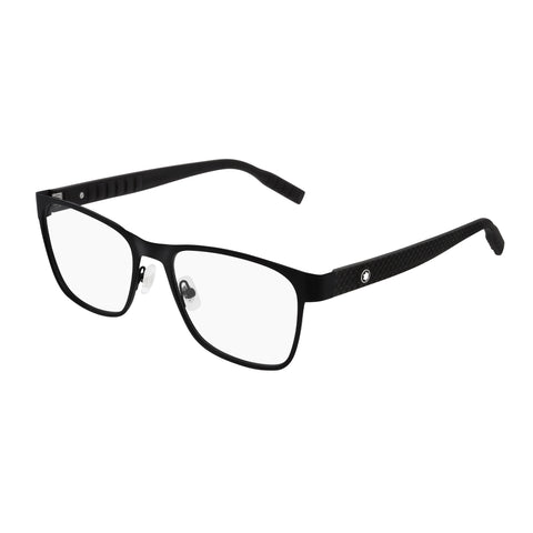 Montblanc Male Mb0067o Black Aviator Optical Frames