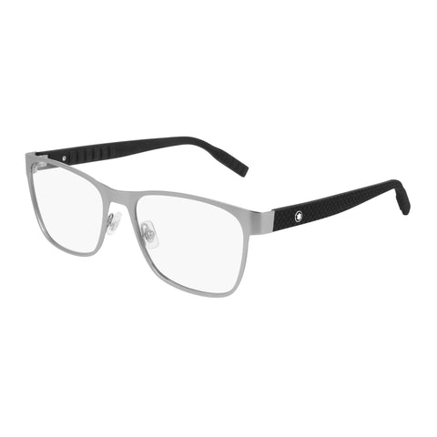 Montblanc Male Mb0067o Silver Aviator Optical Frames