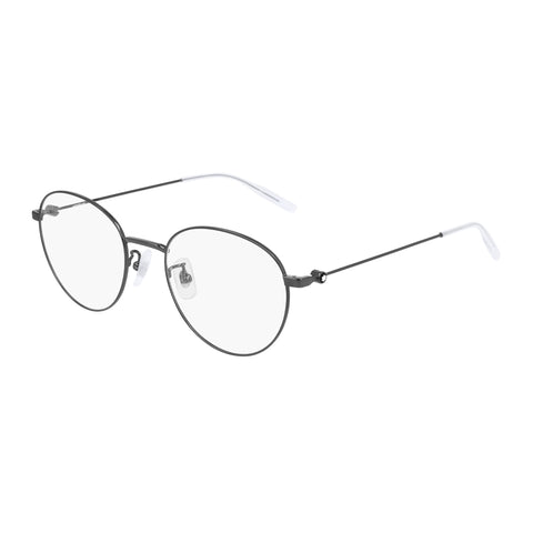 Montblanc Male Mb0085ok Silver Panthos Optical Frames