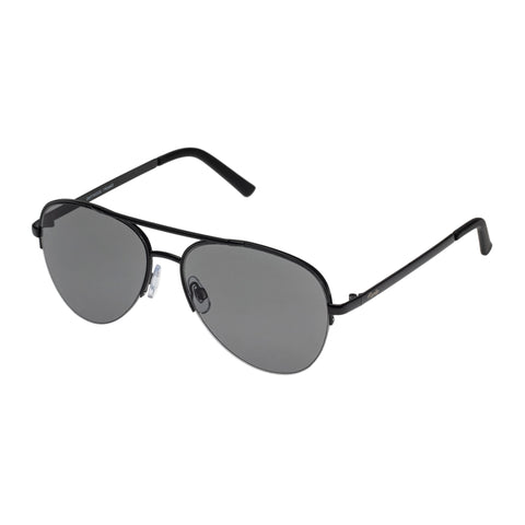 Mambo Male Driftwood Black Aviator Sunglasses