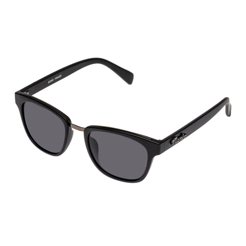 Mambo Male Bohdi Black Modern Rectangle Sunglasses