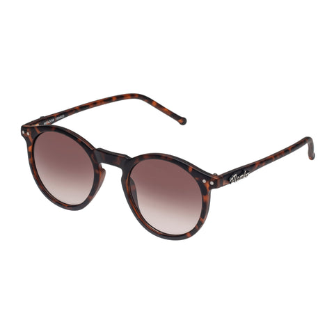 Mambo Female Meadow Tort Round Sunglasses