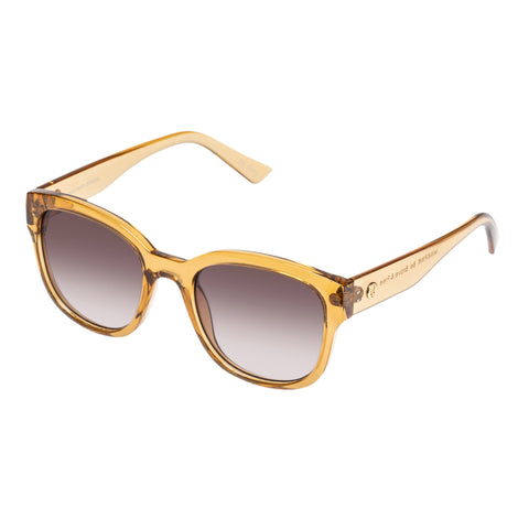 Minkpink Female Destined Nude Modern Rectangle Sunglasses