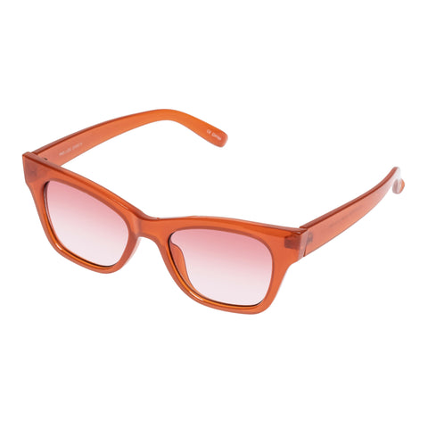 Minkpink Female Prelude Rose Modern Rectangle Sunglasses