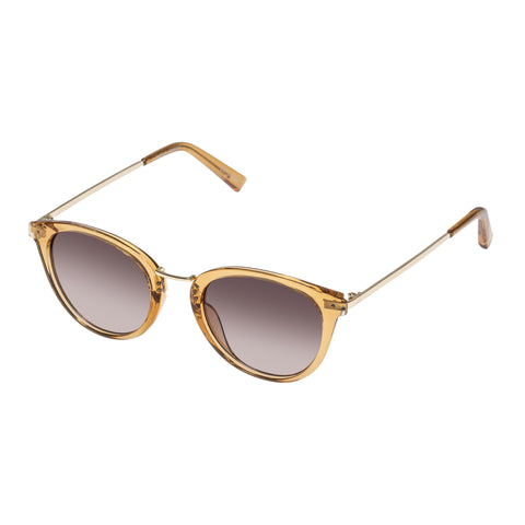 Minkpink Female Hiatus Tan Round Sunglasses