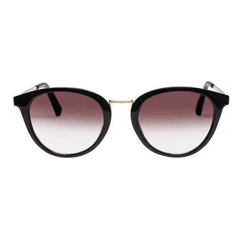Minkpink Female Hiatus Black Round Sunglasses