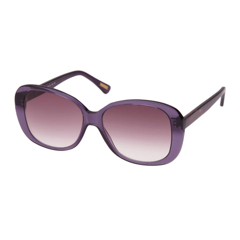 Morrissey Female Soiree Purple Wrap Fashion Sunglasses