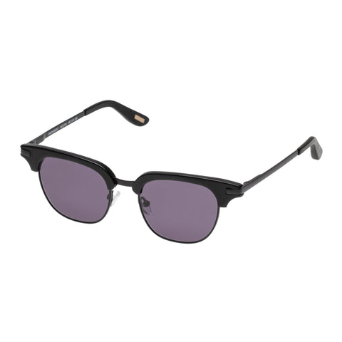 Morrissey Male Prominent Black Classic Sunglasses