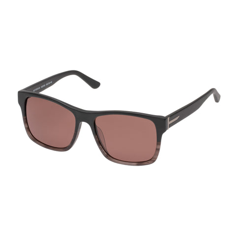 Morrissey Male Notorious Grey Square Sunglasses