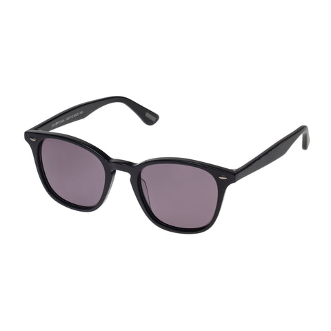 Morrissey Male Exceptional Black Modern Rectangle Sunglasses