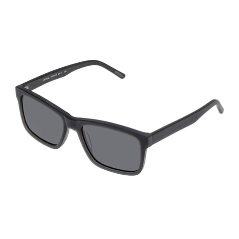 Morrissey Male Virtual Grey Modern Rectangle Sunglasses