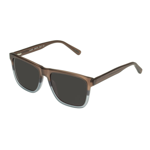 Morrissey Male Quest Brown Modern Rectangle Sunglasses