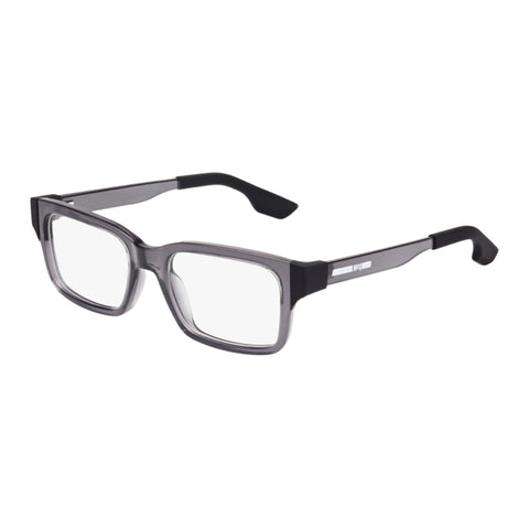 Mcqueen Uni-sex Mq0016o Grey Wrap Fashion Optical Frames