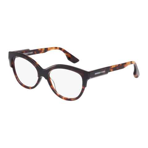 Mcqueen Female Mq0026o Tort Wrap Fashion Optical Frames