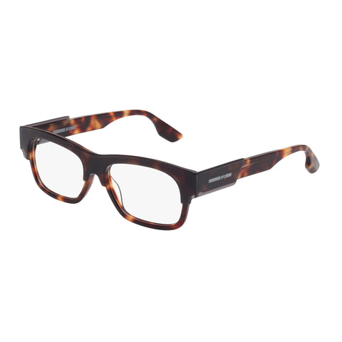 Mcqueen Uni-sex Mq0027o Grey Wrap Fashion Optical Frames