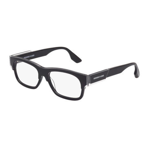 Mcqueen Uni-sex Mq0027o Clear Wrap Fashion Optical Frames