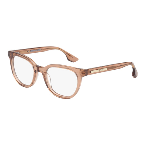 Mcqueen Female Mq0030o Pink Wrap Fashion Optical Frames