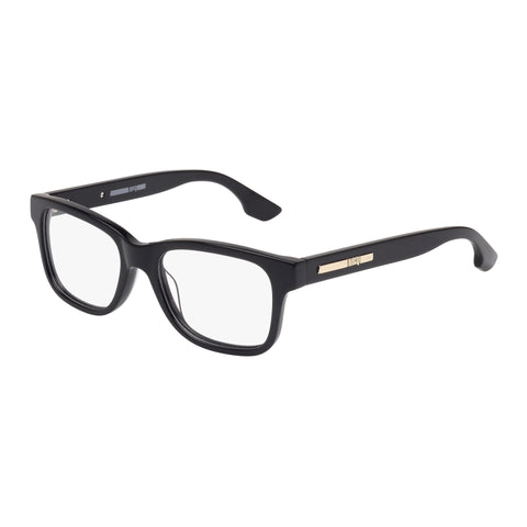 Mcqueen Female Mq0032o Black Wrap Fashion Optical Frames