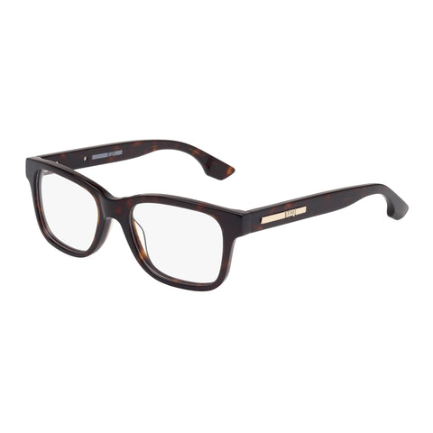 Mcqueen Female Mq0032o Tort Wrap Fashion Optical Frames