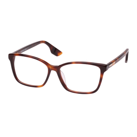 Mcqueen Female Mq0062oa Tort Cat-eye Optical Frames