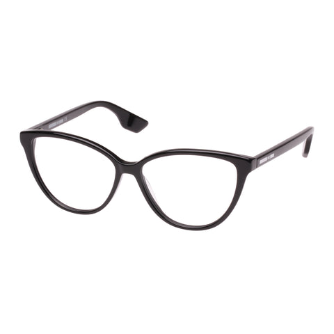 Mcqueen Female Mq0063o Black Cat-eye Optical Frames